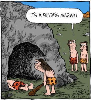 Comic Strip Dave Coverly  Speed Bump 2018-08-08 cave