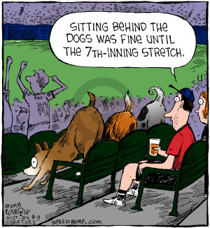 Comic Strip Dave Coverly  Speed Bump 2018-08-09 baseball