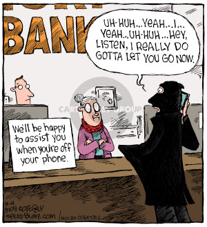 Comic Strip Dave Coverly  Speed Bump 2018-08-14 bank robber