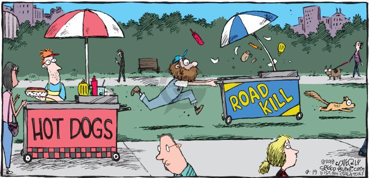 Comic Strip Dave Coverly  Speed Bump 2018-08-19 hot dog