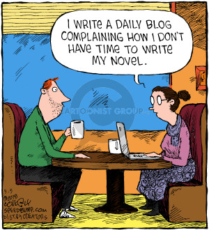 Comic Strip Dave Coverly  Speed Bump 2018-09-05 writing