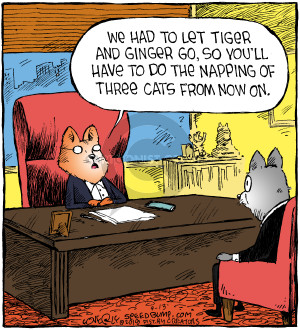 Comic Strip Dave Coverly  Speed Bump 2018-09-13 tiger