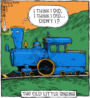 Cartoonist Dave Coverly  Speed Bump 2018-09-20 engine
