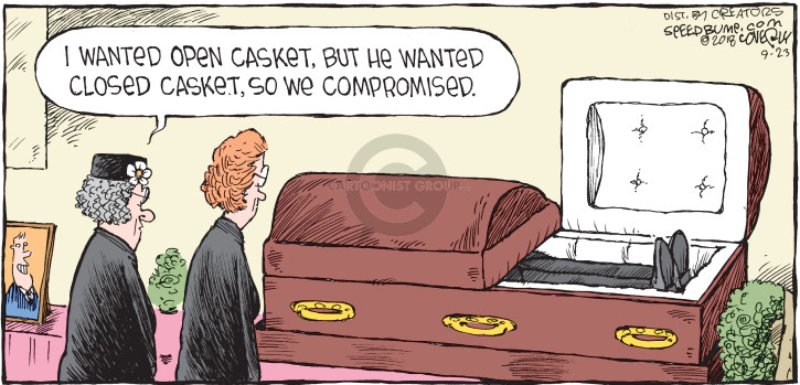 Comic Strip Dave Coverly  Speed Bump 2018-09-23 compromise