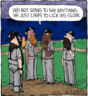 Comic Strip Dave Coverly  Speed Bump 2018-10-03 baseball