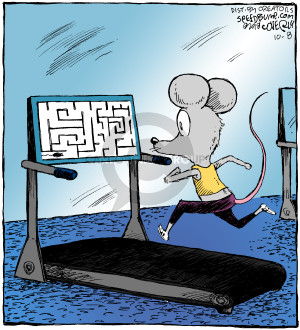 Comic Strip Dave Coverly  Speed Bump 2018-10-08 exercise