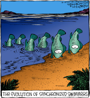 Comic Strip Dave Coverly  Speed Bump 2018-10-10 evolution