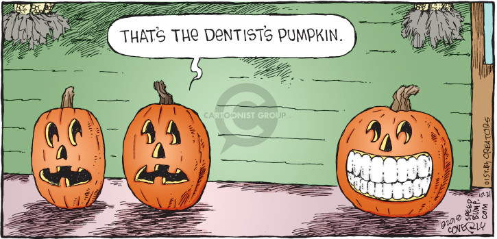Comic Strip Dave Coverly  Speed Bump 2018-10-21 dentistry
