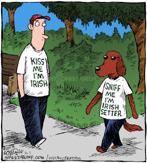 Comic Strip Dave Coverly  Speed Bump 2018-11-01 kiss