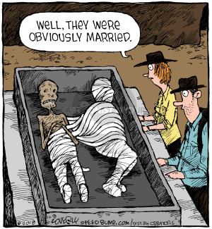 Comic Strip Dave Coverly  Speed Bump 2018-11-08 husband