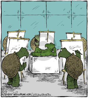Comic Strip Dave Coverly  Speed Bump 2018-11-17 bare