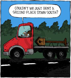 Comic Strip Dave Coverly  Speed Bump 2018-11-22 season