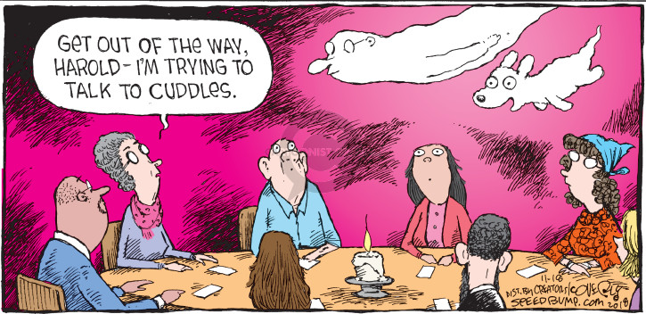 Cartoonist Dave Coverly  Speed Bump 2018-11-18 communicate