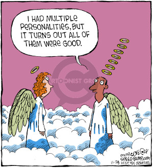 Comic Strip Dave Coverly  Speed Bump 2018-11-28 heaven