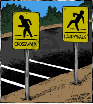 Comic Strip Dave Coverly  Speed Bump 2018-11-29 sign