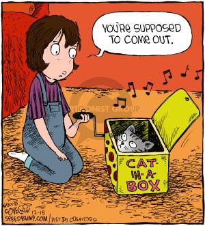 Comic Strip Dave Coverly  Speed Bump 2018-12-15 cat