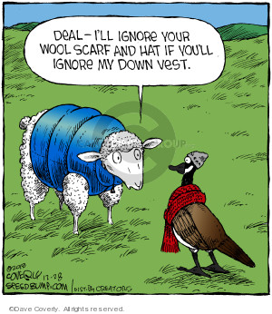 Cartoonist Dave Coverly  Speed Bump 2018-12-28 animal