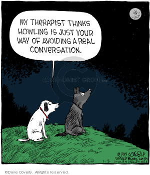 Comic Strip Dave Coverly  Speed Bump 2019-01-03 dog