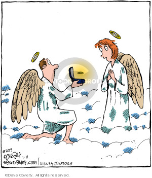 Comic Strip Dave Coverly  Speed Bump 2019-01-09 heaven