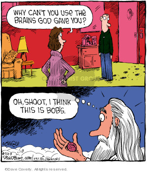 Comic Strip Dave Coverly  Speed Bump 2019-01-10 shoot