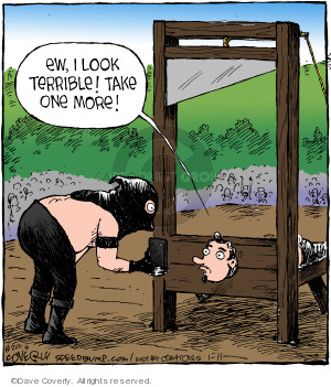 Comic Strip Dave Coverly  Speed Bump 2019-01-11 execution