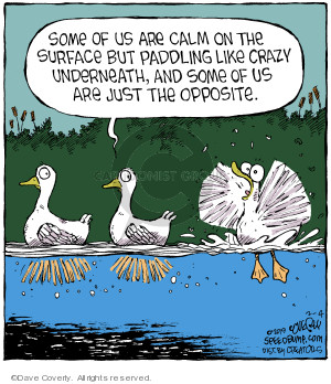 Comic Strip Dave Coverly  Speed Bump 2019-02-04 paddle