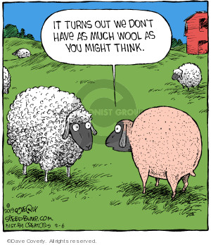 Comic Strip Dave Coverly  Speed Bump 2019-02-06 sheep