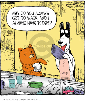 Comic Strip Dave Coverly  Speed Bump 2019-02-13 dry