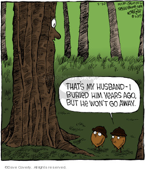 Comic Strip Dave Coverly  Speed Bump 2019-02-20 husband