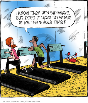 Comic Strip Dave Coverly  Speed Bump 2019-02-22 exercise