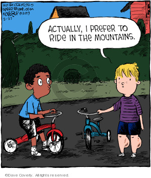 Comic Strip Dave Coverly  Speed Bump 2019-02-27 muscle