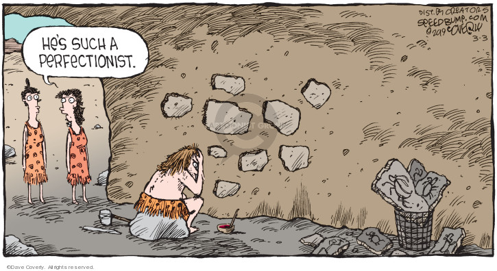 Comic Strip Dave Coverly  Speed Bump 2019-03-03 cave