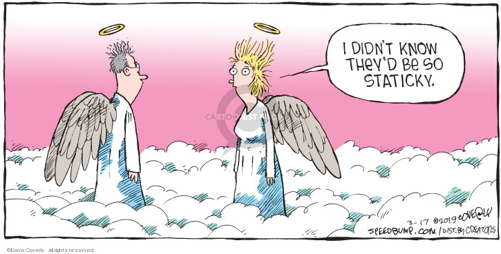Comic Strip Dave Coverly  Speed Bump 2019-03-17 heaven