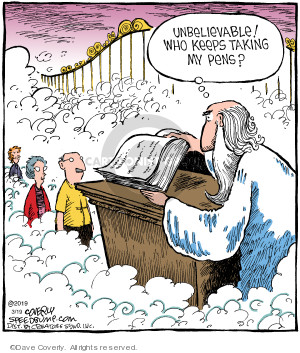 Comic Strip Dave Coverly  Speed Bump 2019-03-19 heaven
