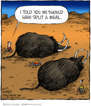 Comic Strip Dave Coverly  Speed Bump 2019-03-29 food