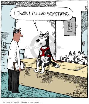 Comic Strip Dave Coverly  Speed Bump 2019-04-10 dog