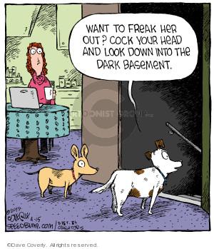Comic Strip Dave Coverly  Speed Bump 2019-04-15 dog