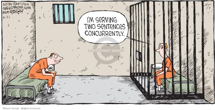 Cartoonist Dave Coverly  Speed Bump 2019-04-21 prison