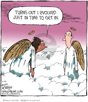 Comic Strip Dave Coverly  Speed Bump 2019-04-25 evolution