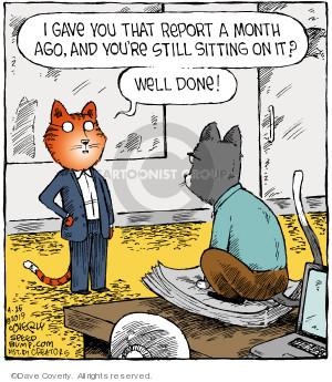 Comic Strip Dave Coverly  Speed Bump 2019-04-26 cat