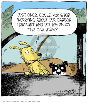 Comic Strip Dave Coverly  Speed Bump 2019-04-29 environment