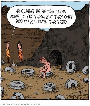 Comic Strip Dave Coverly  Speed Bump 2019-05-06 caveman