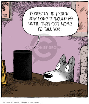 Cartoonist Dave Coverly  Speed Bump 2019-05-08 speed