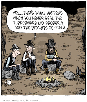Cartoonist Dave Coverly  Speed Bump 2019-05-07 cowboy