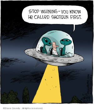Comic Strip Dave Coverly  Speed Bump 2019-05-22 alien abduction