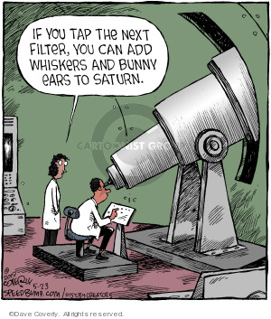 Comic Strip Dave Coverly  Speed Bump 2019-05-23 astronomy