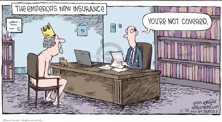 Comic Strip Dave Coverly  Speed Bump 2019-05-26 insurance coverage