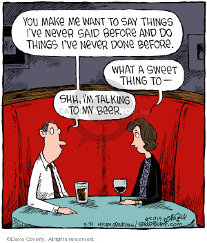 Cartoonist Dave Coverly  Speed Bump 2019-05-31 speed dating