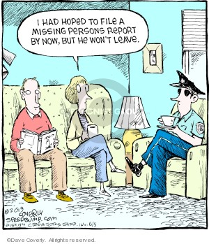 Cartoonist Dave Coverly  Speed Bump 2019-06-05 Dave Coverly