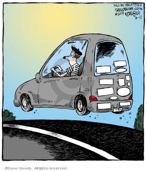 Comic Strip Dave Coverly  Speed Bump 2019-06-11 car